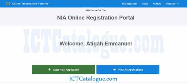 Ghana Card Online Registration