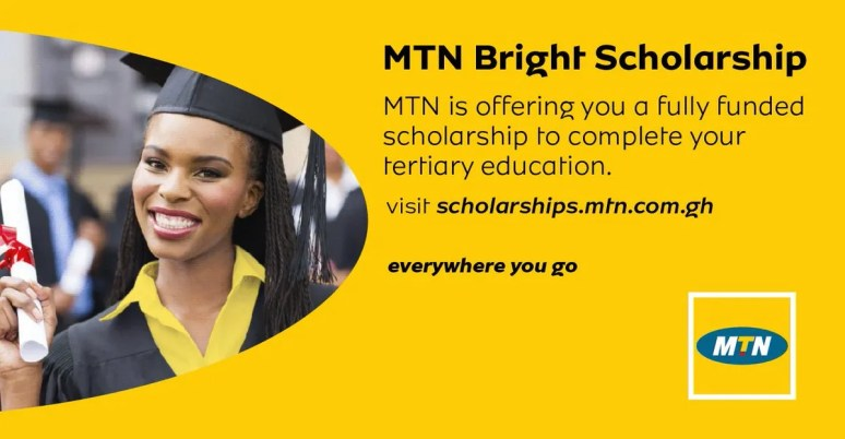 How To Apply For MTN Bright Scholarship 2019