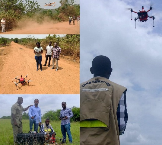 Drone Mapping Technology To Lead Ghana's Land Digitalisation Agenda