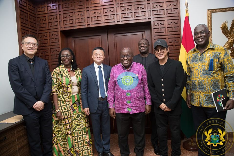 Jack Ma: Founder Of Alibaba In Ghana to donate to the Youth Entrepreneurship program