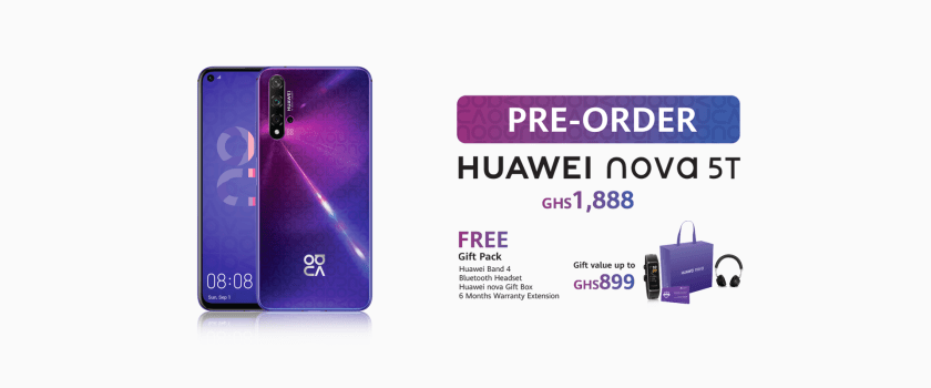 How To Pre-Order For The Huawei Nova 5T