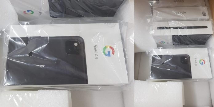 Google Pixel 4A Retail Packaging Pop-ups