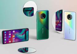Infinix Note 7 With A Big Screen And Side Mounted Fingerprint