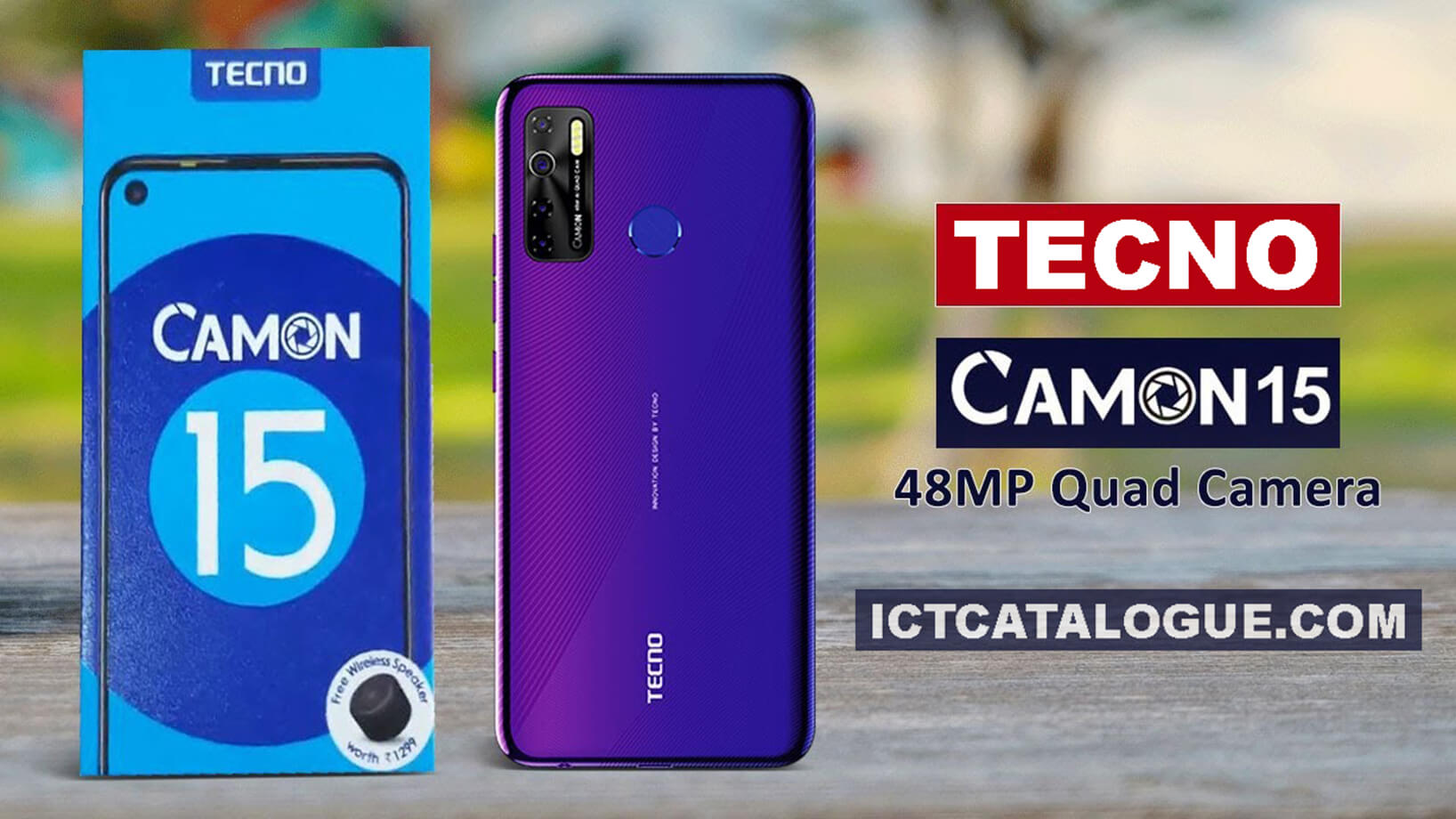 TECNO Camon 15 Specs And Price In Ghana
