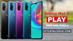 Infinix Hot 9 Play: First Infinix Hot 9 Phone With 6000 mAh Battery