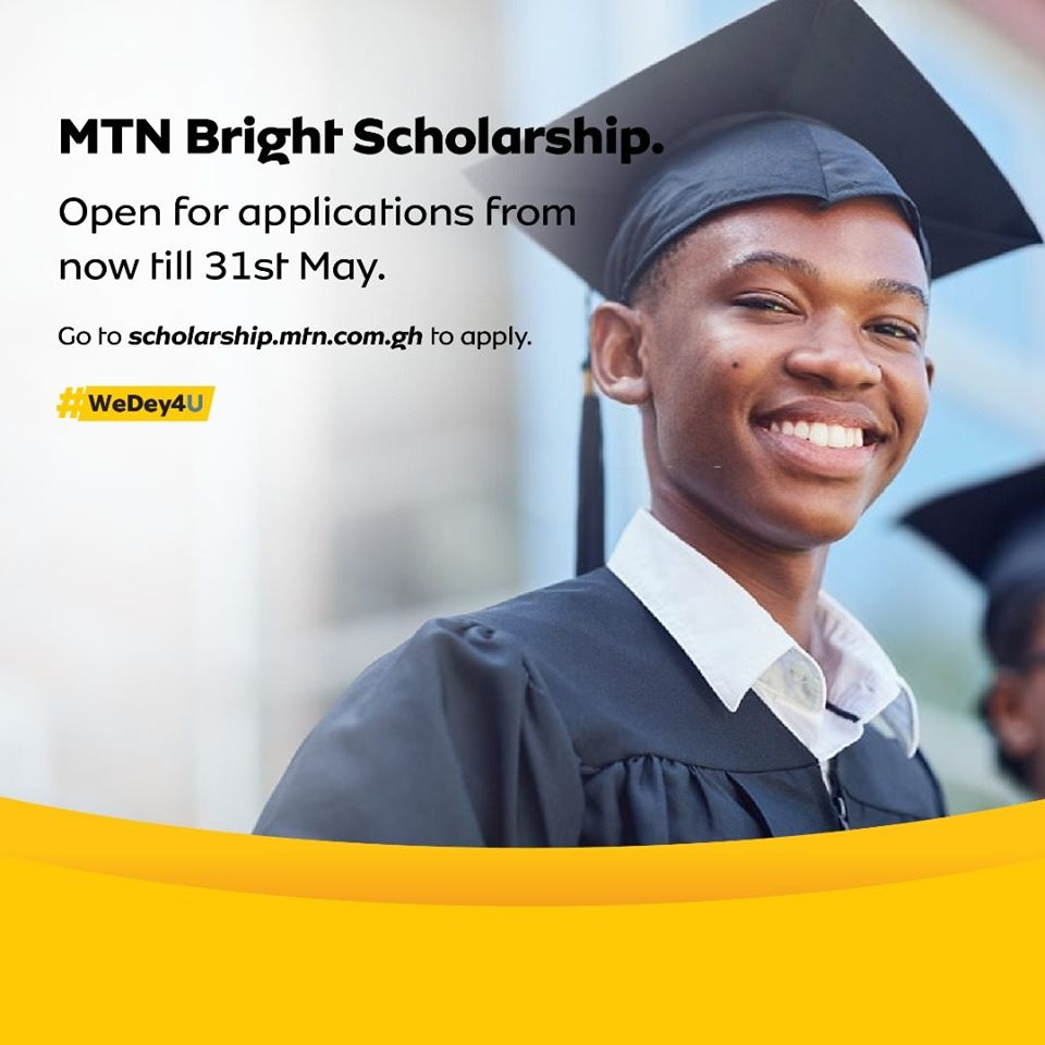 How SHS & Tertiary Students Can Apply For MTN Bright Scholarship 2020
