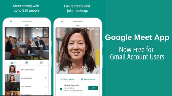 Google Meet App