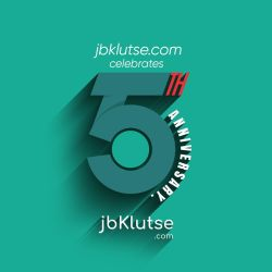 JBKlutse.com Is 5 Years