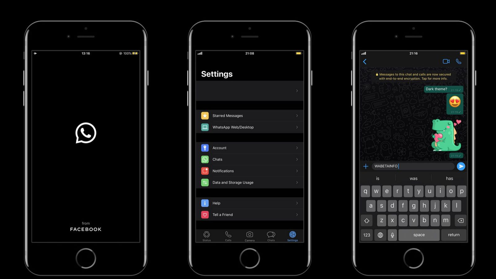 Enable WhatsApp Dark Mode For iPhone