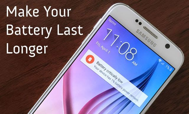 4 Ways To Make Your Smartphone Battery Last Longer
