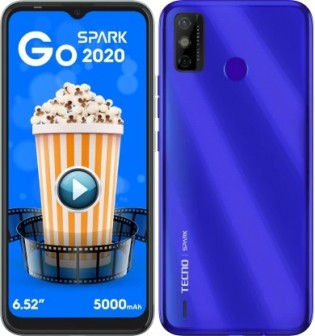 """Tecno Spark Go 2020 Announced: 6.52"""" Display, 5,000 mAh battery, And Android 10 (Go Edition)"""