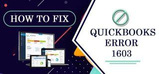 how to fix quick book error 1603