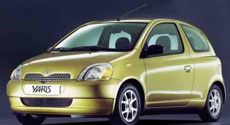 1. nesil Toyota Yaris