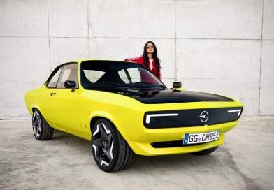 Opel Manta yeniden ve elektrikli olarak üretimde