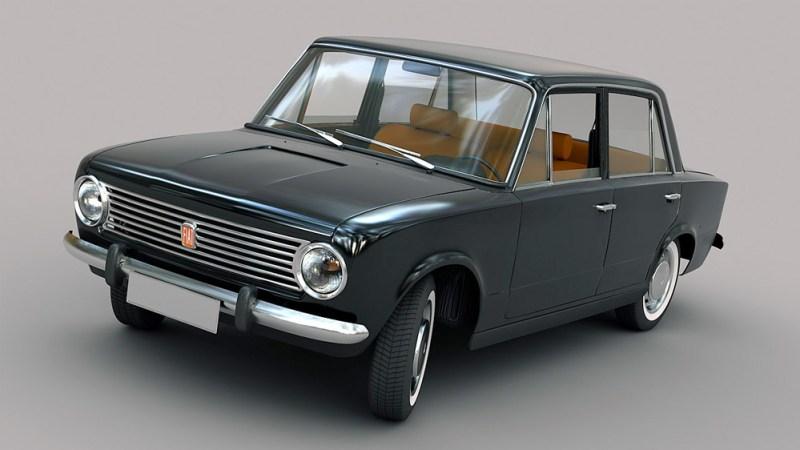 1967 model Fiat 124