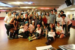 1-3-12 Newbie Graduation and visiting skater Gnar Gnar Binx