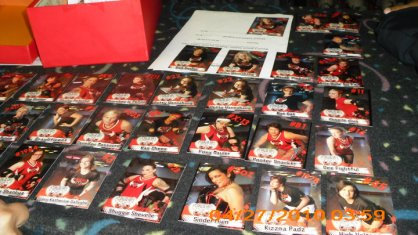4-2010 TRADING CARDS