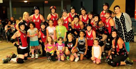 9-19-15 AllStars vs Vet City with Girl Scout troop