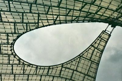 Munich Olympic Stadium, Roof Construction