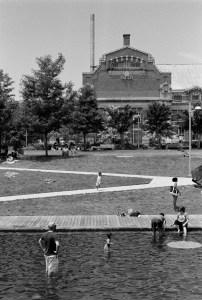 Navy Yard, Washington, DC. Taken with Minolta SR-T 100x camera, 35–70 f3.5 MD zoom lens, Agfa APX 100 film.