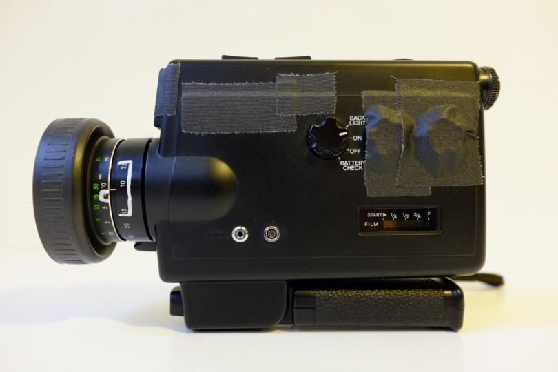 My modded Minolta XL-601 from ca. 1978