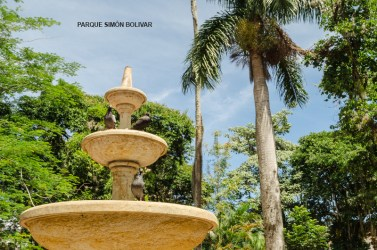 Parque Simon Bolivar Fuente
