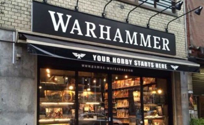 Icv2 Games Workshop To Rebrand Open More Retail Stores