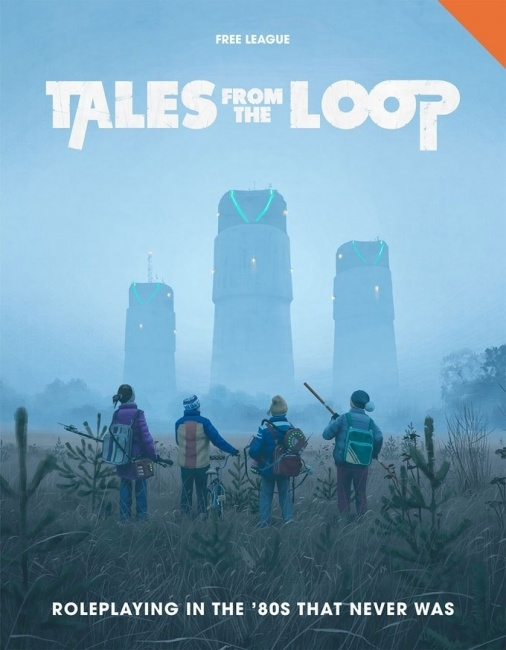 Tales From The Loop Board Game : tales, board, ICv2:, League, Planning, 'Tales, Board, Game'
