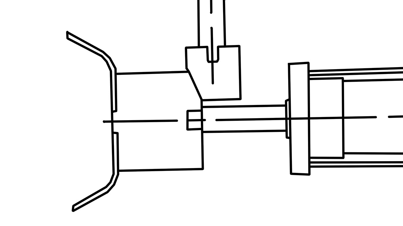 Alternative Method of Actuating Injection Mold Core Pulls