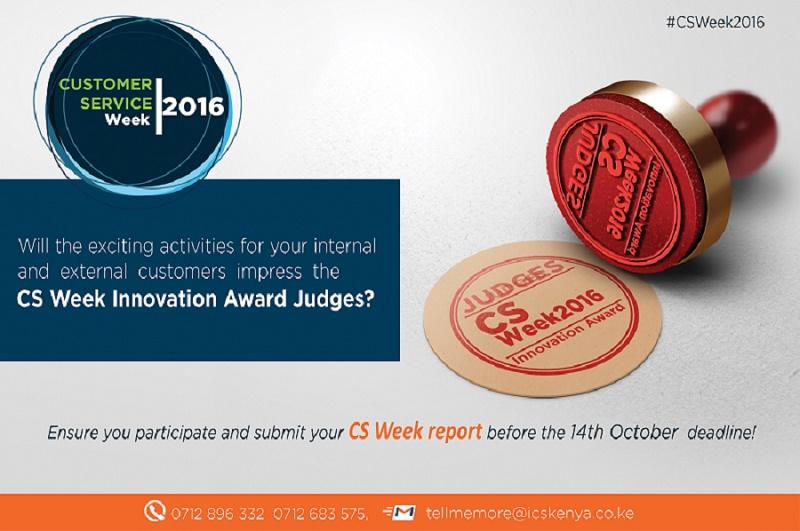 CSweek Innovation Awards 2016