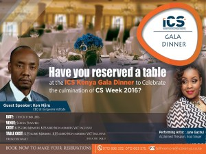 ICS Kenya Gala Night 2016