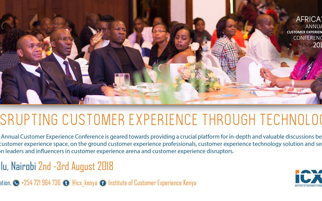 Inaugural Africa Customer Experience Conference 2018 is Here with Us.