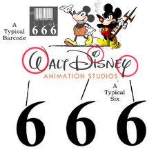 Walt-Disney-666-Logo-Bar-code