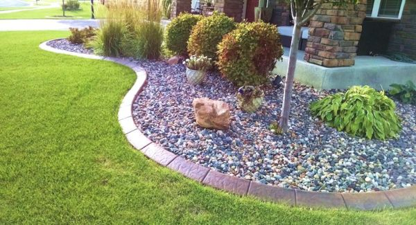 landscape edging ideas - home improvement