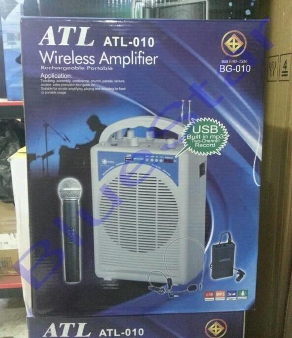 ORIGINAL  Speaker Portable wireless PA amplifier ATL 010 TOA meeting