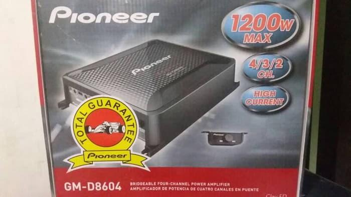 Promo     Pioneer GM 8604 power amplifier 4 channel     Original