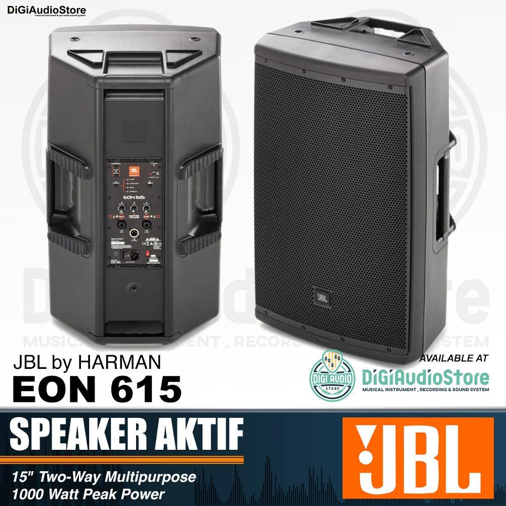 JBL EON615 Speaker Aktif 15 inch 1000 Watt with EQ Bluetooth - EON 615