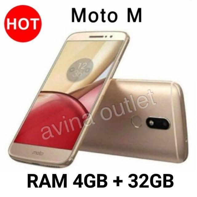 Motorola Moto M Ram 4GB/32GB - Garansi Resmi - Gold