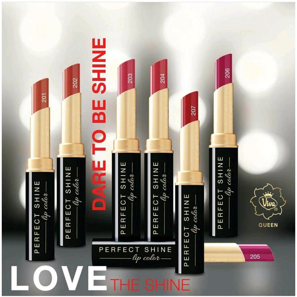 Lipstick VIVA Queen Perfect Shine Lip Color