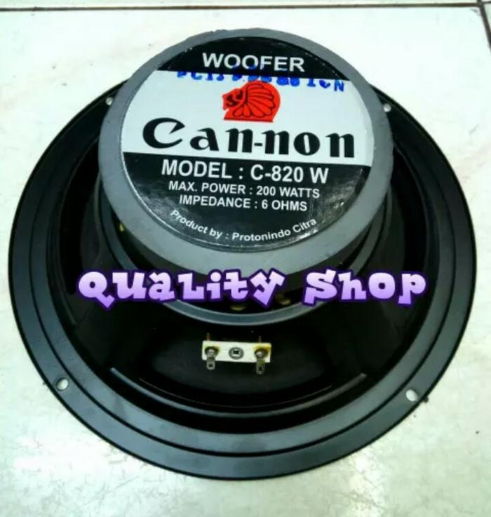 ORIGINALS  speaker woofer canon 8 inch 200 watt