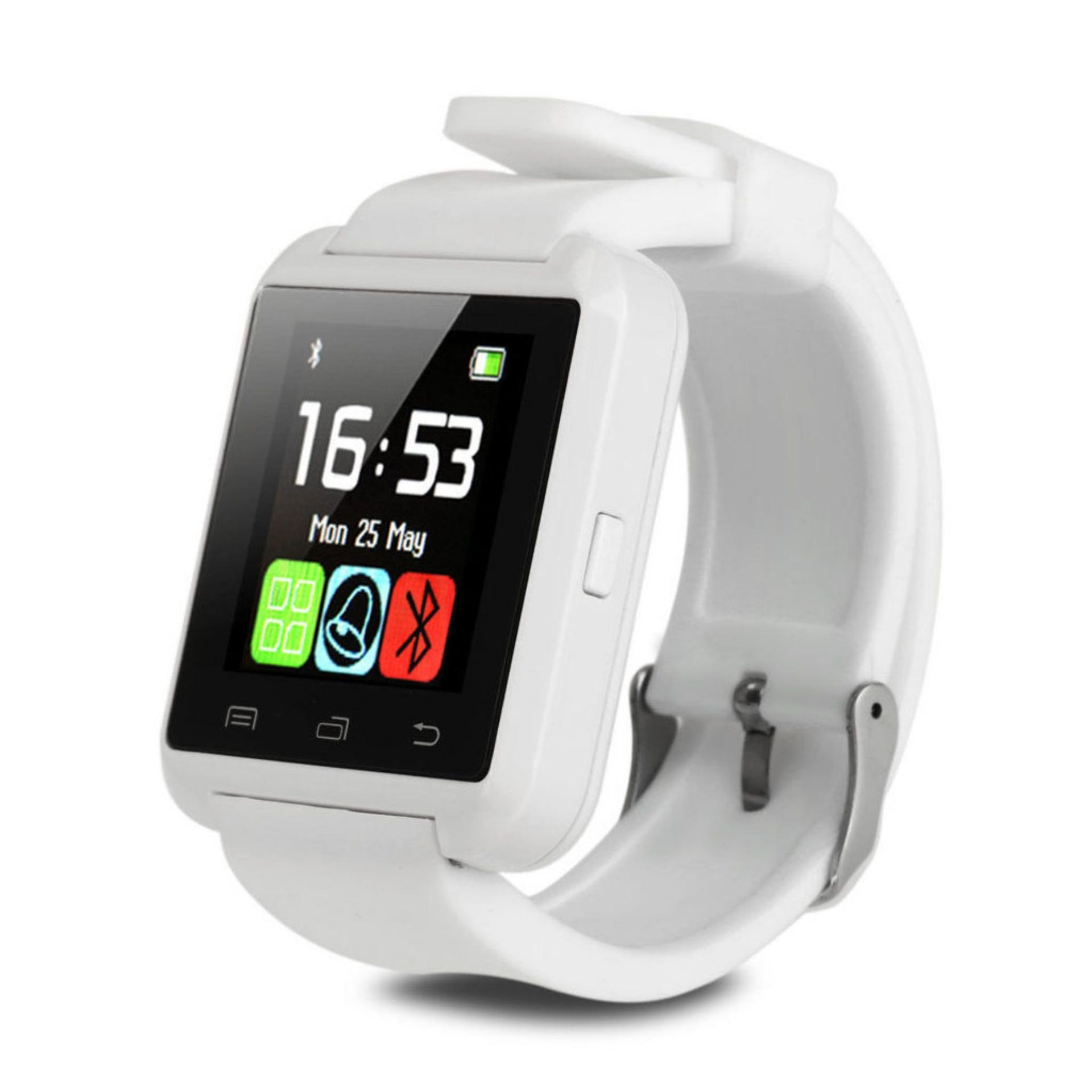Bluetooth Smart Phone Mate Wrist Watch For Android IOS Samsung HTC SONY Huawei - intl