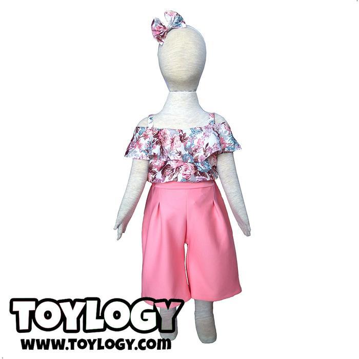 TERLARIS  Baju dan Celana Kulot Sonya Setelan Anak Childrens Clothes Suit Sonya PROMO