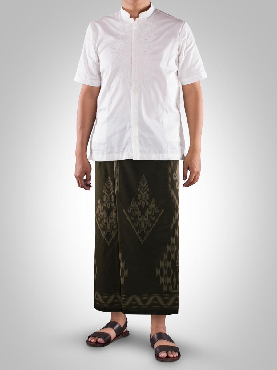 Sarung Tenun Cap Mangga Gold Kembang 5pcs