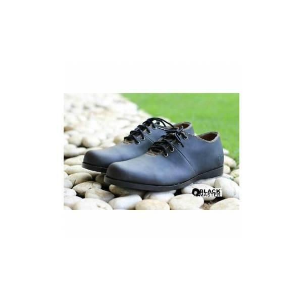 Hot Promo Sepatu Brodo Black Master Kerja Formal Pesta Kuliah Lapangan Touring Anti Air Casual Pria Boots Pan