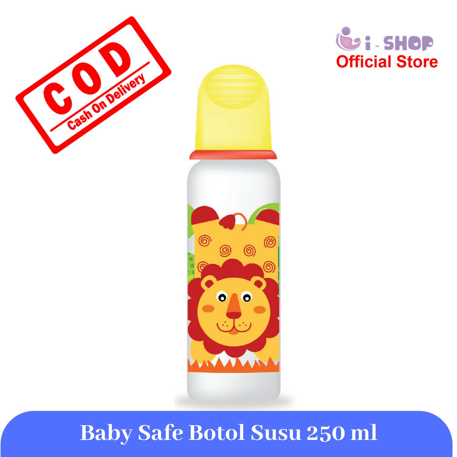 Harga Terbaru Botol Susu Ukuran 250ml November 2018 Paling Laris Bebe Bayi Eco Pp Color I Shop Baby Safe Feeding Bottle 250 Ml