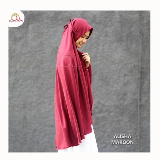ALISHA JUMBO (Bergo Syari) (Softbrown)