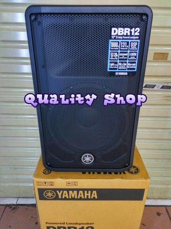 ORIGINAL  Speaker active 12 inch yamaha DBR-12 original 1000 watt 2 pcs