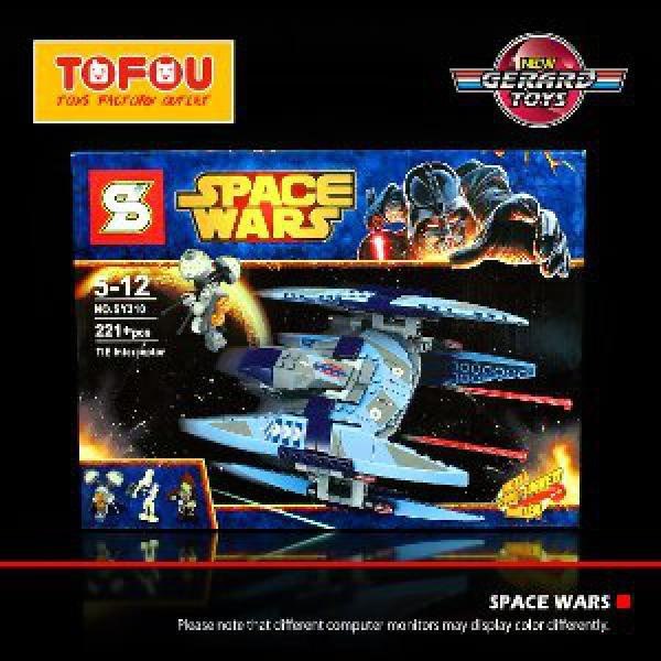 Mainan Anak Lego SY310 Space Wars Star Wars Murah