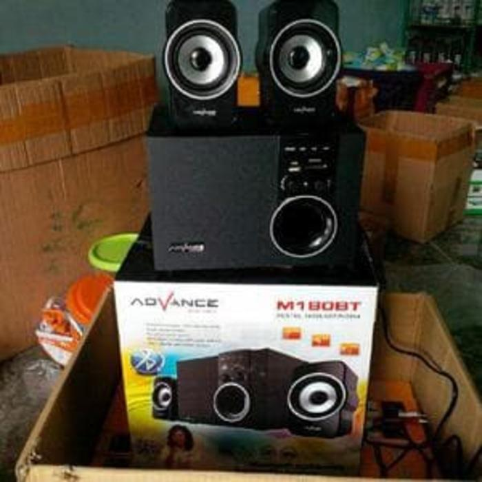 Referensi speaker advance m180bt portable  speaker aktif / speaker laptop / speaker super bass