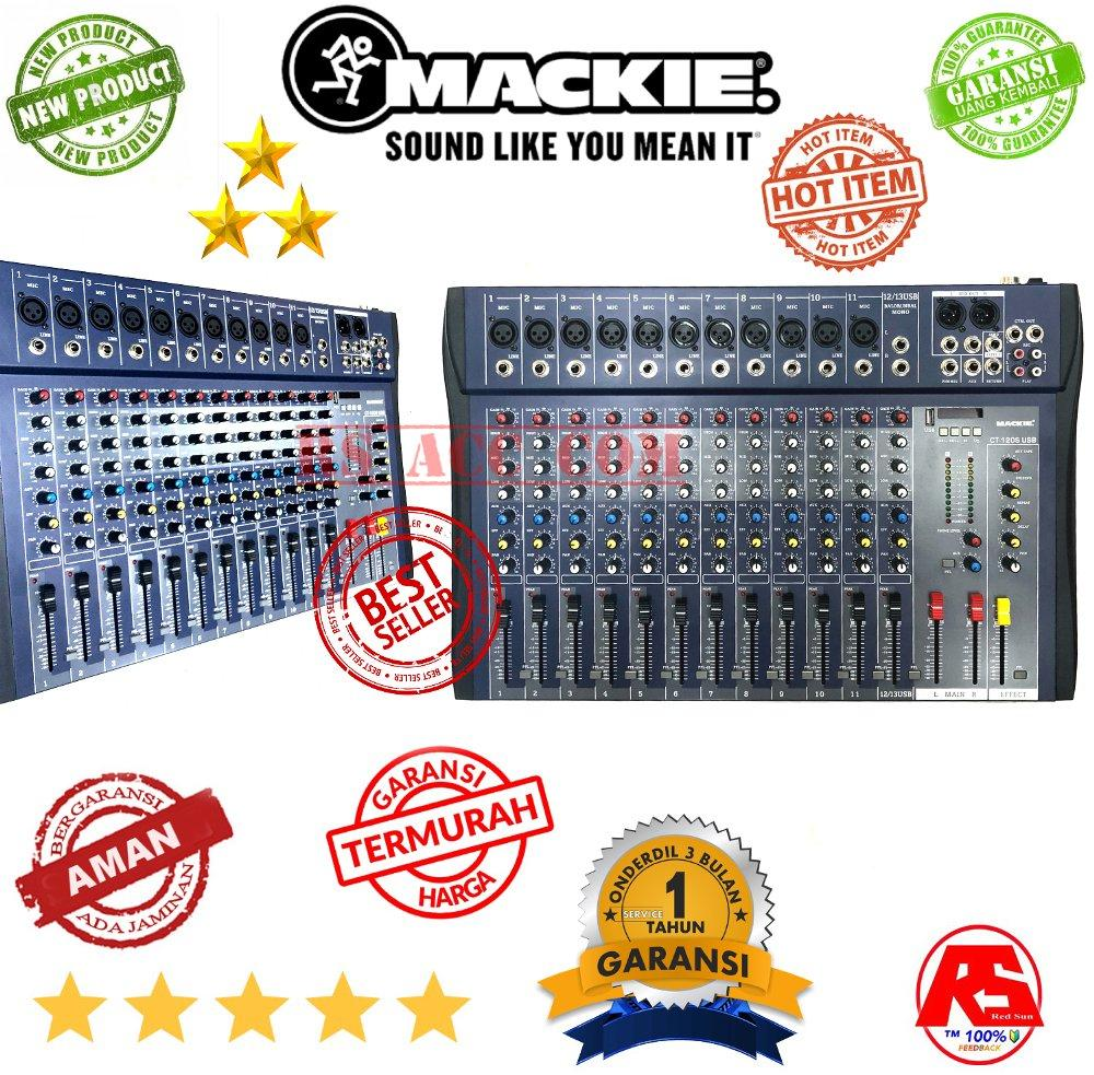 MIXING MIXER MACKIE SUPER SLIM 12 CHANNEL HD AUDIO